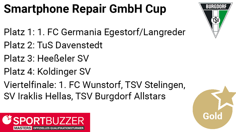 Smartphone Repair Cup der TSV Burgdorf