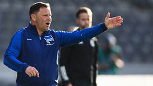 Hertha-Trainer Pal Dardai hat das