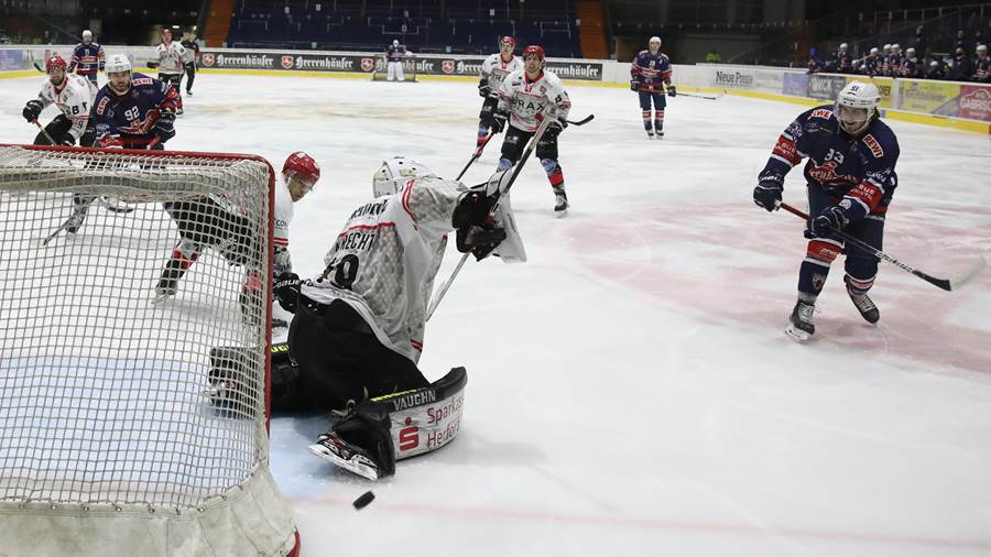 EC Hannover Indians - Ice Dragons Herford 28.12.2020
