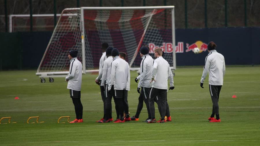RB Leipzig im Training (05.12.2017)
