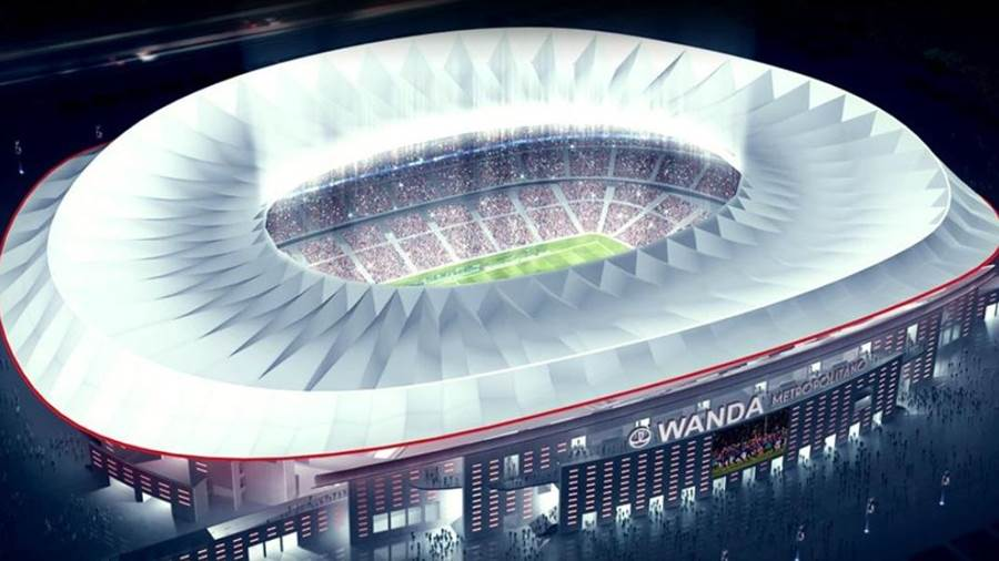 neues stadion atletico