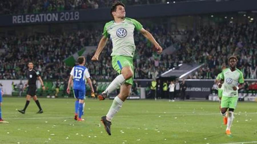 Top in Form: Josip Brekalo vom VfL Wolfsburg.
