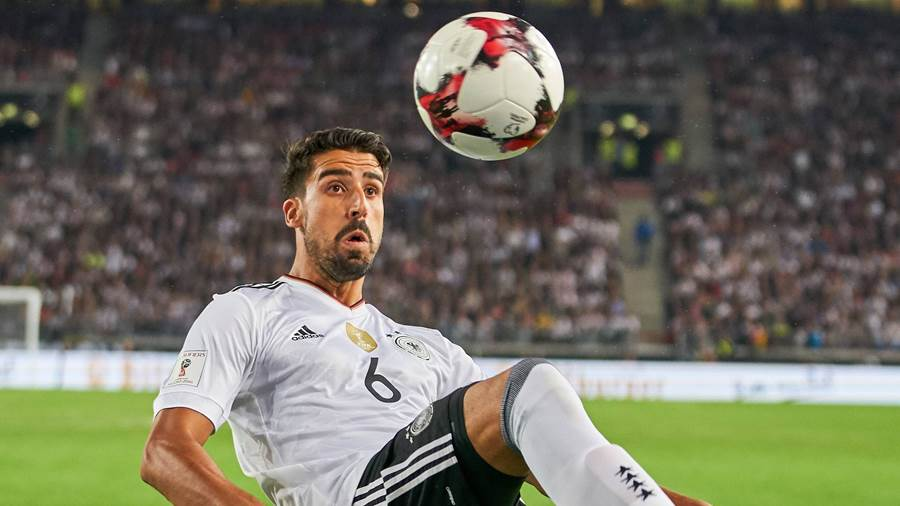 Defensives Mittelfeld: Sami Khedira.