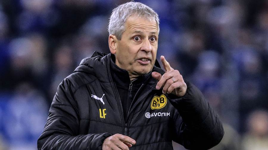 Trainer Lucien Favre wechselt in der Champions League durch.