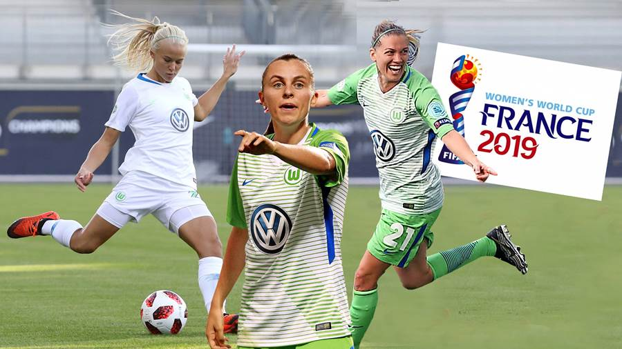 CL VfL-Frauen vs Thor Frauenfußball, Champions League, 1. Runde, Rückspiel, VfL Wolfsburg vs Thor/KA, Bild zeigt: Pernille Harder (VfL, 22) Wolfsburg *** CL VfL Women vs. Thor Womens Football Champions League 1 round return match VfL Wolfsburg vs. Thor KA picture shows Pernille Harder VfL 22 Wolfsburg