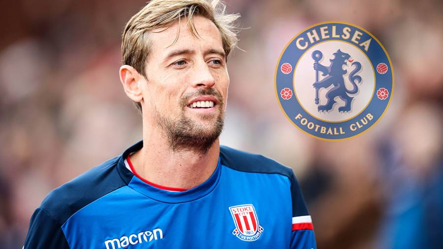 Holt Chelsea Oldie Peter Crouch?