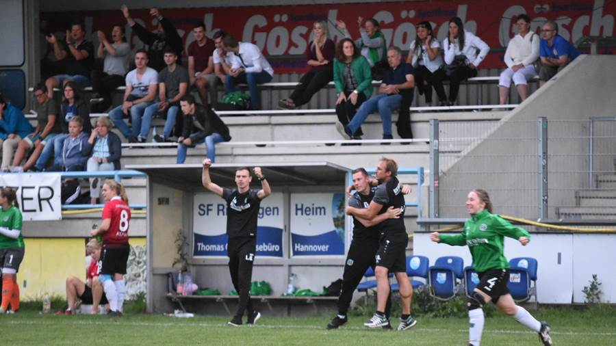 Hannover 96 Tsv Limmer Finale Frauen Sportbuzzer Cup