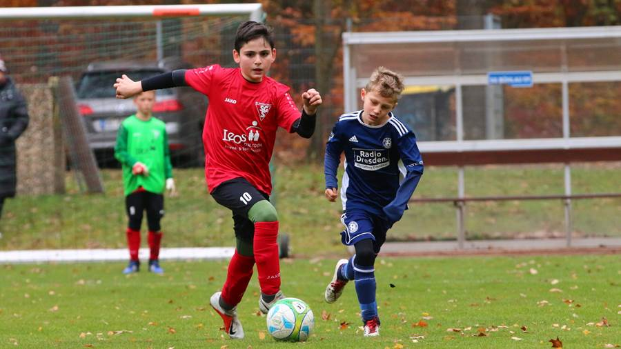 E-Jugend: Soccer for Kids - SG Striesen 8:3.