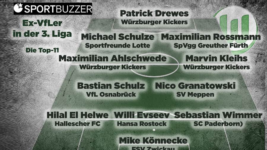 Ex-VfLer in der 3. Liga - Die Top 11