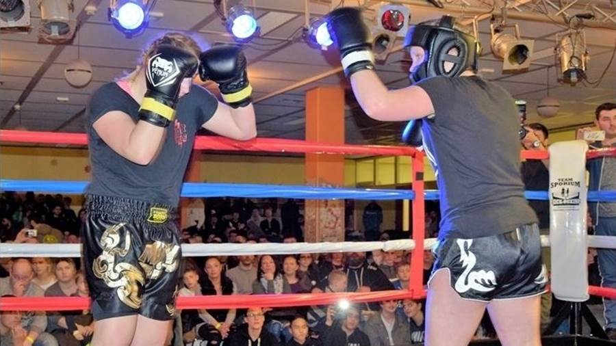 1. Fight Night, Stadthagen