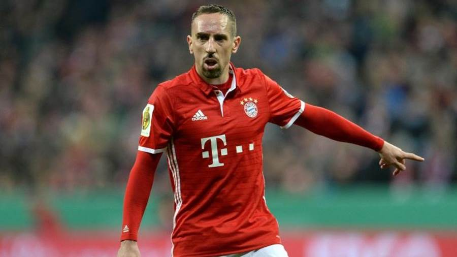 Franck Ribéry fühlt sich in München pudelwohl.