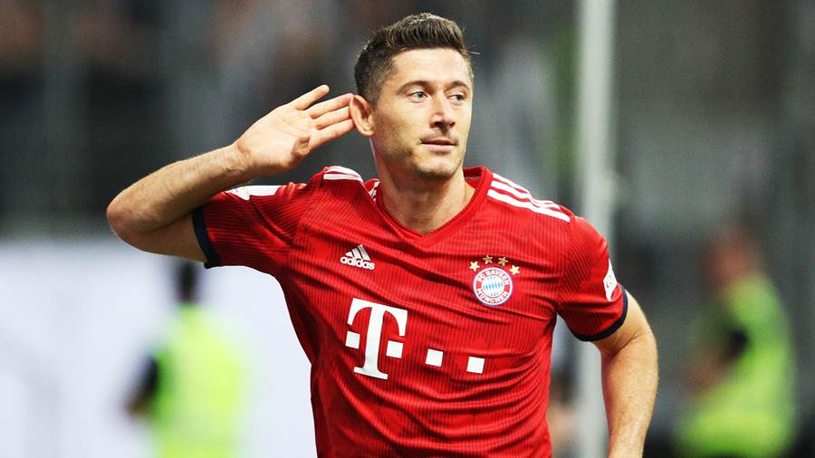 Robert Lewandowski: 90 (91)
