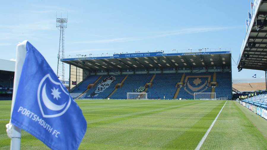 EFL LEAGUE ONE: Fratton Park: Portsmouth