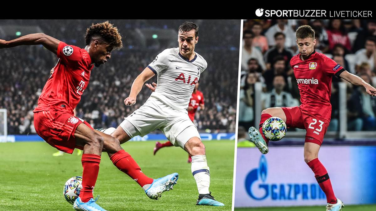 Champions League In Live Ticker With Fc Bayern Bayer
