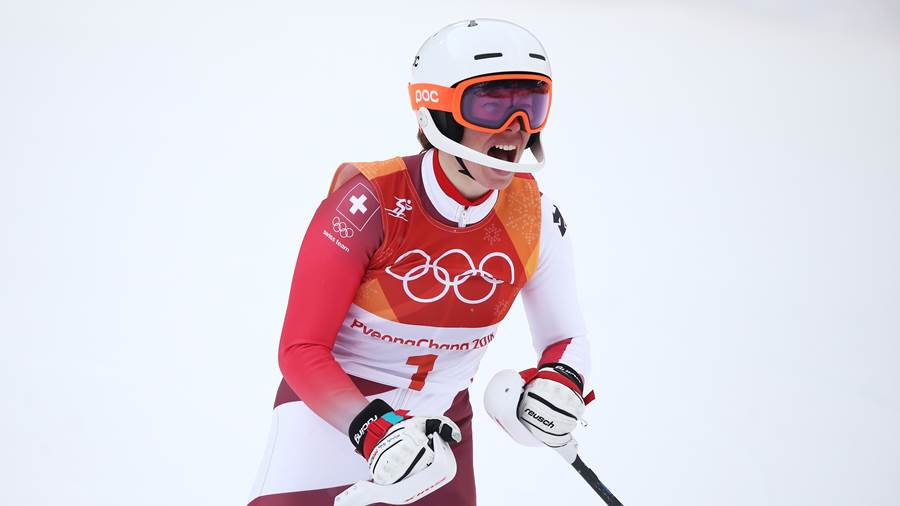 Michelle Gisin (Schweiz) - Ski Alpin, Kombination, Frauen
