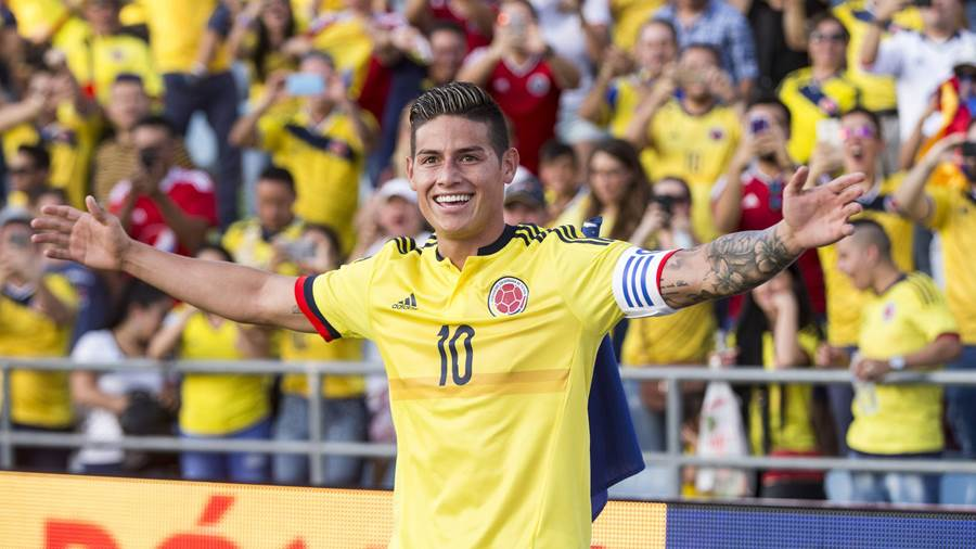 Zugang: Offensivspieler James Rodriguez (Real Madrid, Leihe)