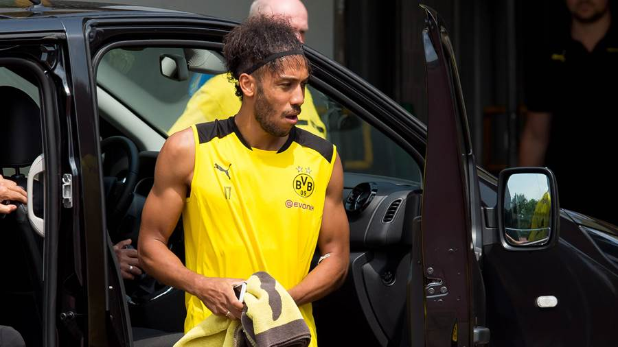 Trainingsstart in Dortmund: Pierre-Emerick Aubameyang