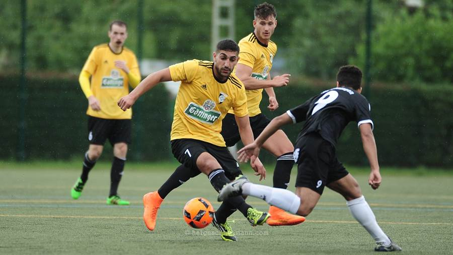 Derby-Cup 2017: Gerbi Kaplan in Aktion.