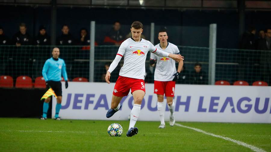 In der Youth League spielte RB Leipzig U19 am 27. November 2019 gegen Benfica Lissabon.