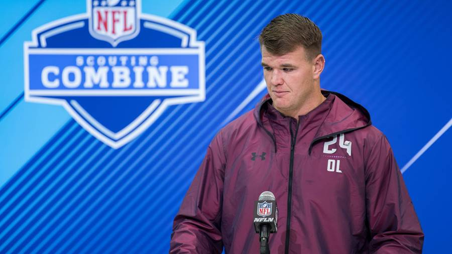 9. Pick: Mike McGlinchey (Offensive Tackle) - San Francisco 49ers