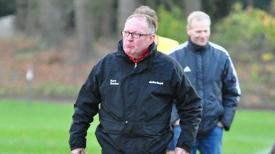 Ramlingen-Trainer Kurt Becker.