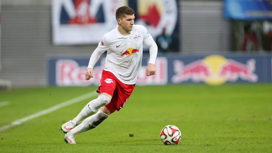 LEIPZIG,GERMANY,07.DEC.14 - SOCCER - 2. DFL, 2. Deutsche Bundesliga,  RasenBallsport Leipzig vs FC Ingolstadt. Image shows Ante Rebic (RB Leipzig). Photo: GEPA pictures/ Sven Sonntag - For editorial use only. Image is free of charge.