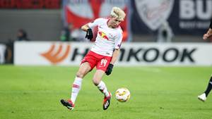 LEIPZIG,GERMANY,13.DEC.18 - SOCCER - UEFA Europa League, group stage, RasenBallsport Leipzig vs Rosenborg BK Trondheim. Image shows Kevin Kampl (RB Leipzig). Photo: GEPA pictures/ Sven Sonntag - For editorial use only. Image is free of charge.