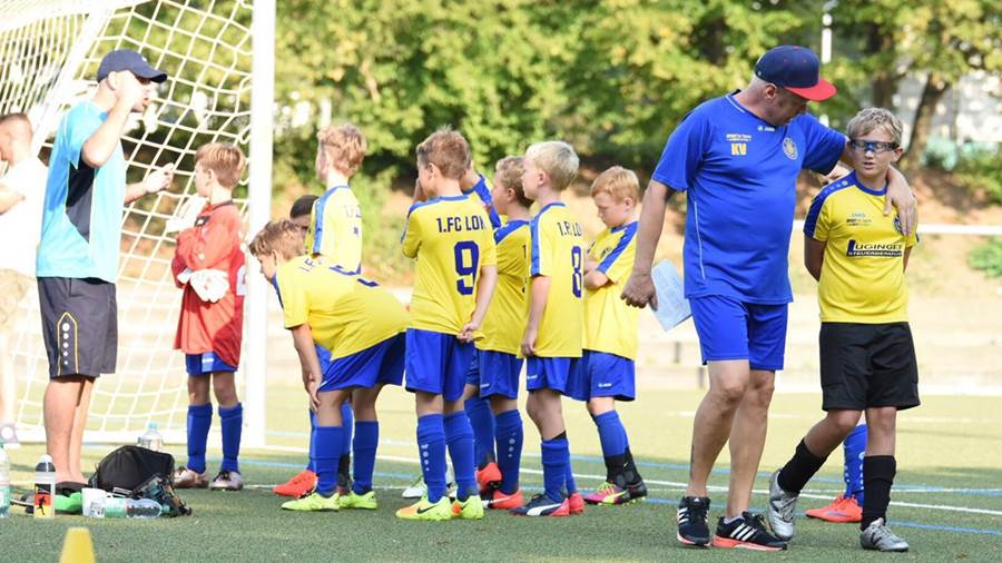 Loks U11 beim internationalen Kids-Cup in Waiblingen