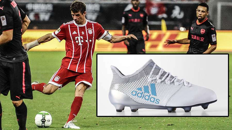Thomas Müller: Adidas X 17.1 Leather