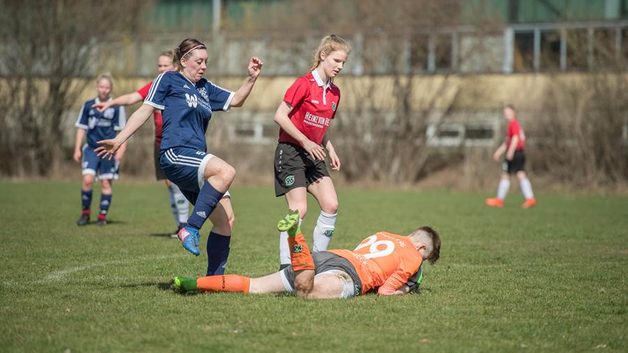 Nina Rohrbeck (Hannover 96): 9,0 Prozent
