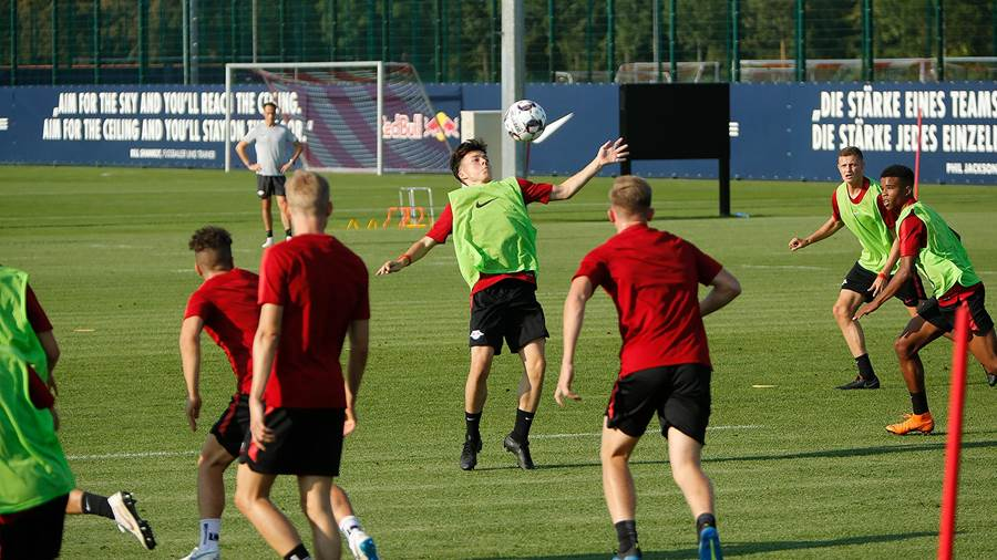 Fotos Das Training Von Rb Leipzig Vom 5 September 2018