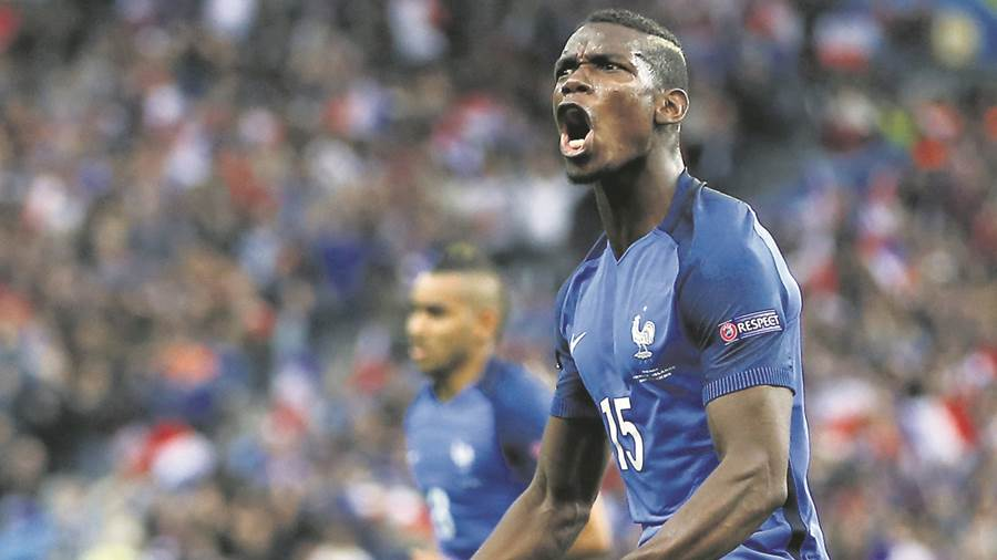 Paul Pogba - Frankreich - Manchester United