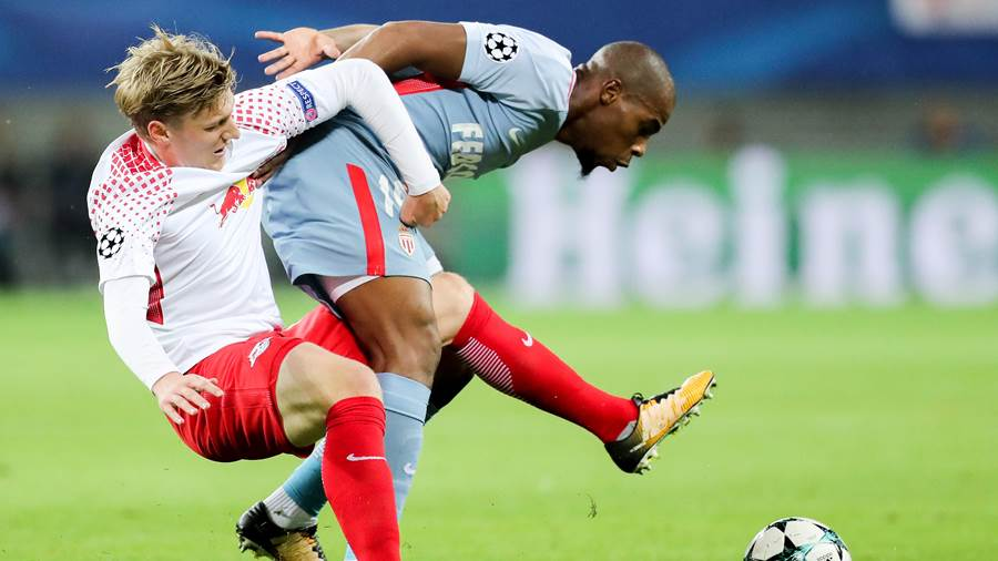 RB Leipzig - AS Monaco (dpa) (5)