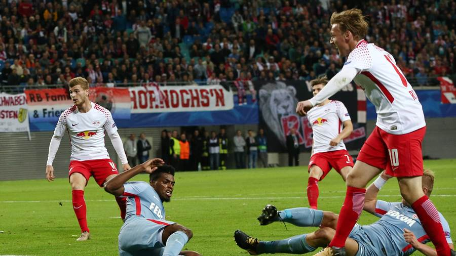 RB Leipzig - AS Monaco (Imago) (4)
