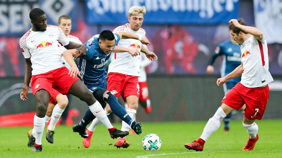 RB Leipzig - Hamburger SV (dpa) (1)