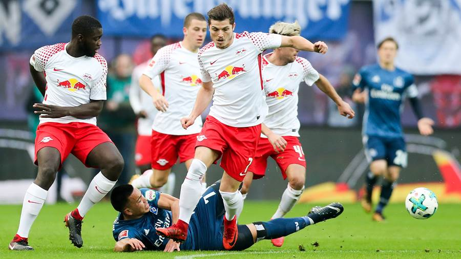 RB Leipzig - Hamburger SV (dpa) (2)