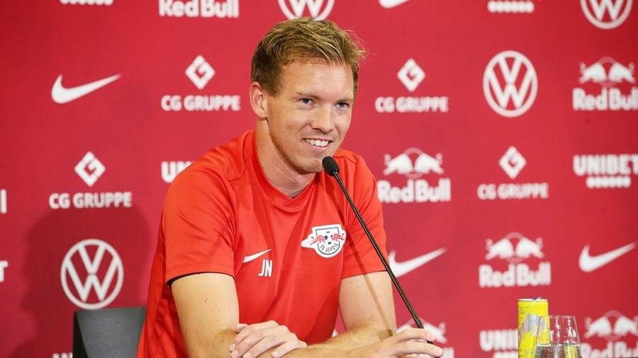 RB Leipzigs Trainer Julian Nagelsmann