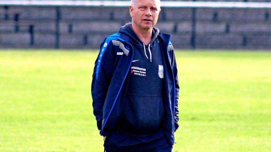 Rhinow-Coach Heinz Wollermann