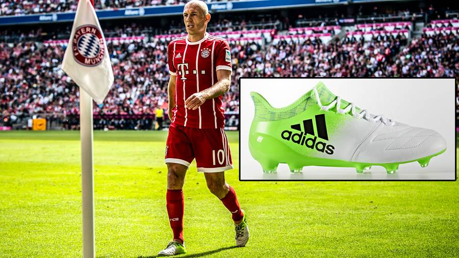 Arjen Robben: Adidas X 16.1 Leather