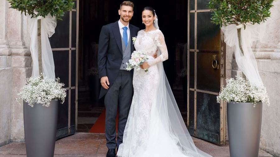 Ron-Robert Zieler hat geheiratet.
