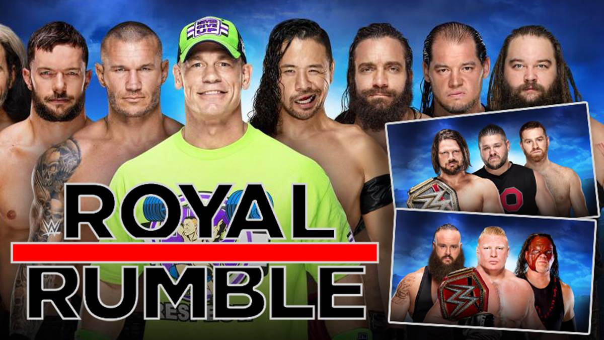 wwe royal rumble 2018 ppv im livestream und tv sehen. Black Bedroom Furniture Sets. Home Design Ideas
