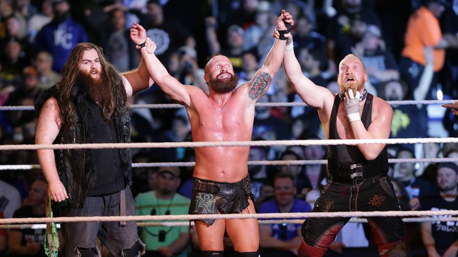 """""""SAnitY"""" hat die Tag-Team-Titel am 20. Dezember 2017 an Bobby Fish and Kyle O'Reilly verloren."""