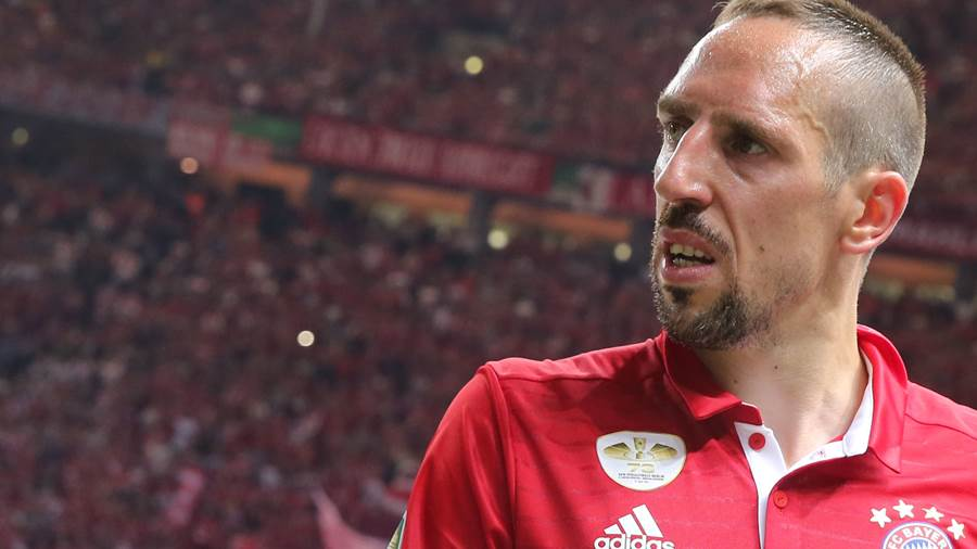 Seit 2007 in München: Franck Ribery