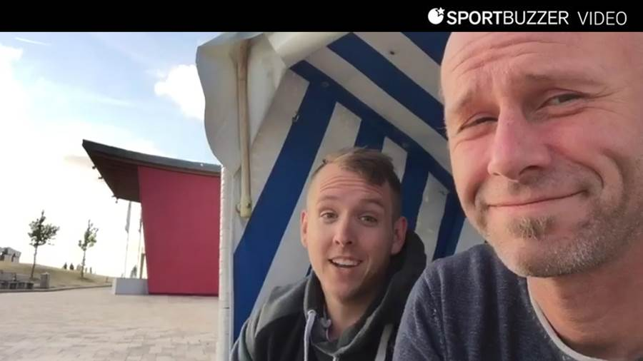 Sportbuzzer-Video-Kolumne aus St Peter -Ording Tag 4