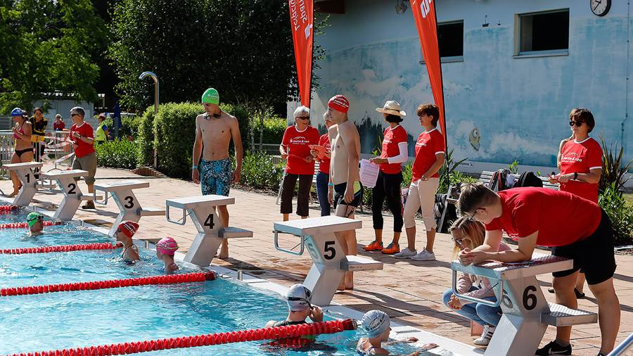 Swim & Run am 7. Juli 2019 im Parthebad in Taucha