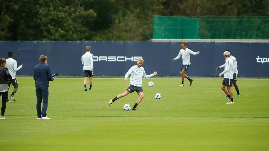 Training RB Leipzig am 11.09.17 (Dirk Knofe) (22)