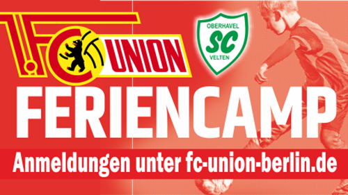 1. FC Union Berlin Feriencamp in Velten