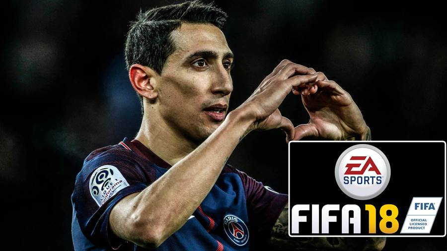 Angel di Maria von Paris St.-Germain ist einer der größten Stars in der Prediction zum FIFA 18 Ultimate Team of the Week 13.