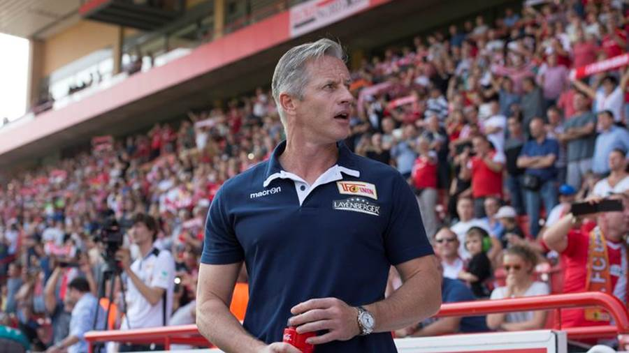 Union-Trainer Jens Keller. (Archivbild)