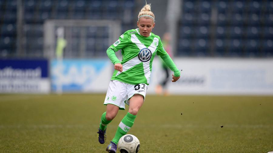 VfL-Kickerin Julia Simic.